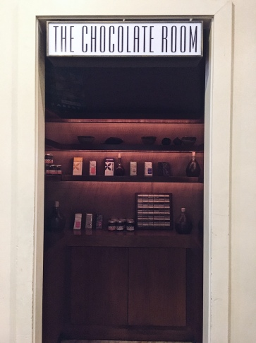 the chocolate room!