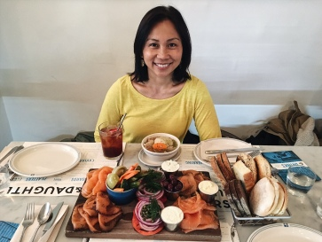 The Ida Platter (plus my gorgeous mom)